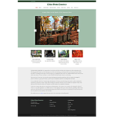 Cedar Grove Cemetery Web Site