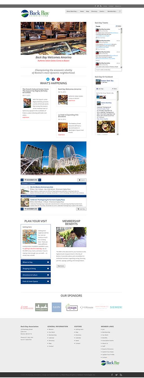 Boston Back Bay Association Web Site