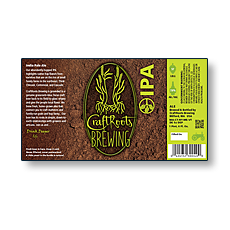 CraftRoots Brewing Bottle Labels