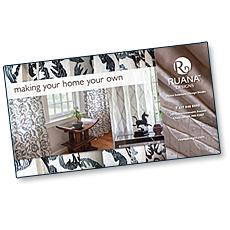 Ruana Designs Direct Mailpiece