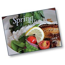 Truffles Grille & Wine Bar Direct Mailpiece