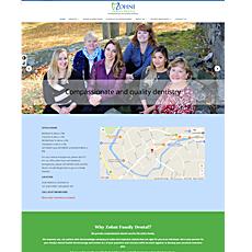 Zohni Family Dental Web Site