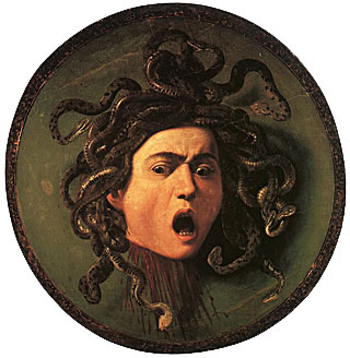 Michelangelo Merisi da Caravaggio - Testa di Medusa - 1597