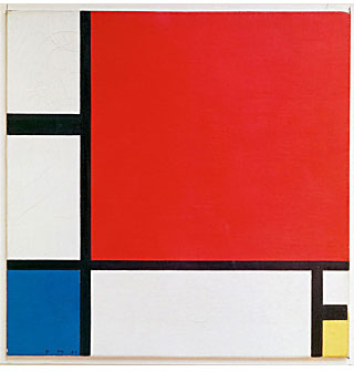 Piet Mondrian - Composition II in Red, Blue, and Yellow - 1930
